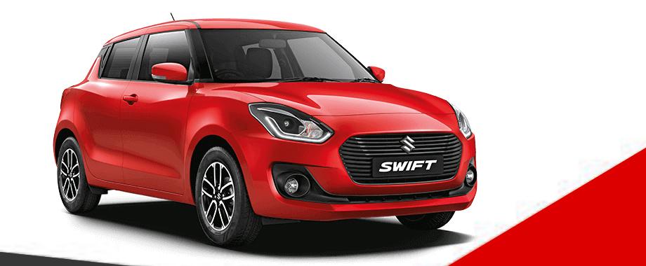 Ex-Showroom and On-Road price for Maruti Suzuki Swift