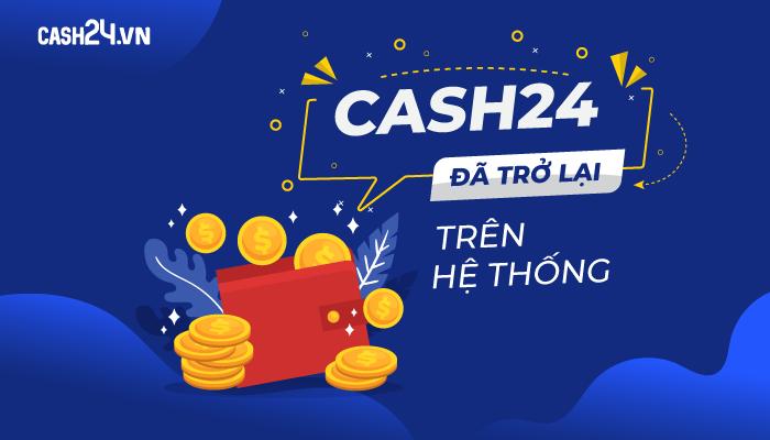 Chiến dịch tiếp thị liên kết của CASH24 - CPL CASH24