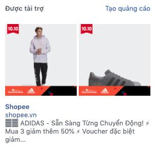 Quảng cáo cột bên phải của Facebook