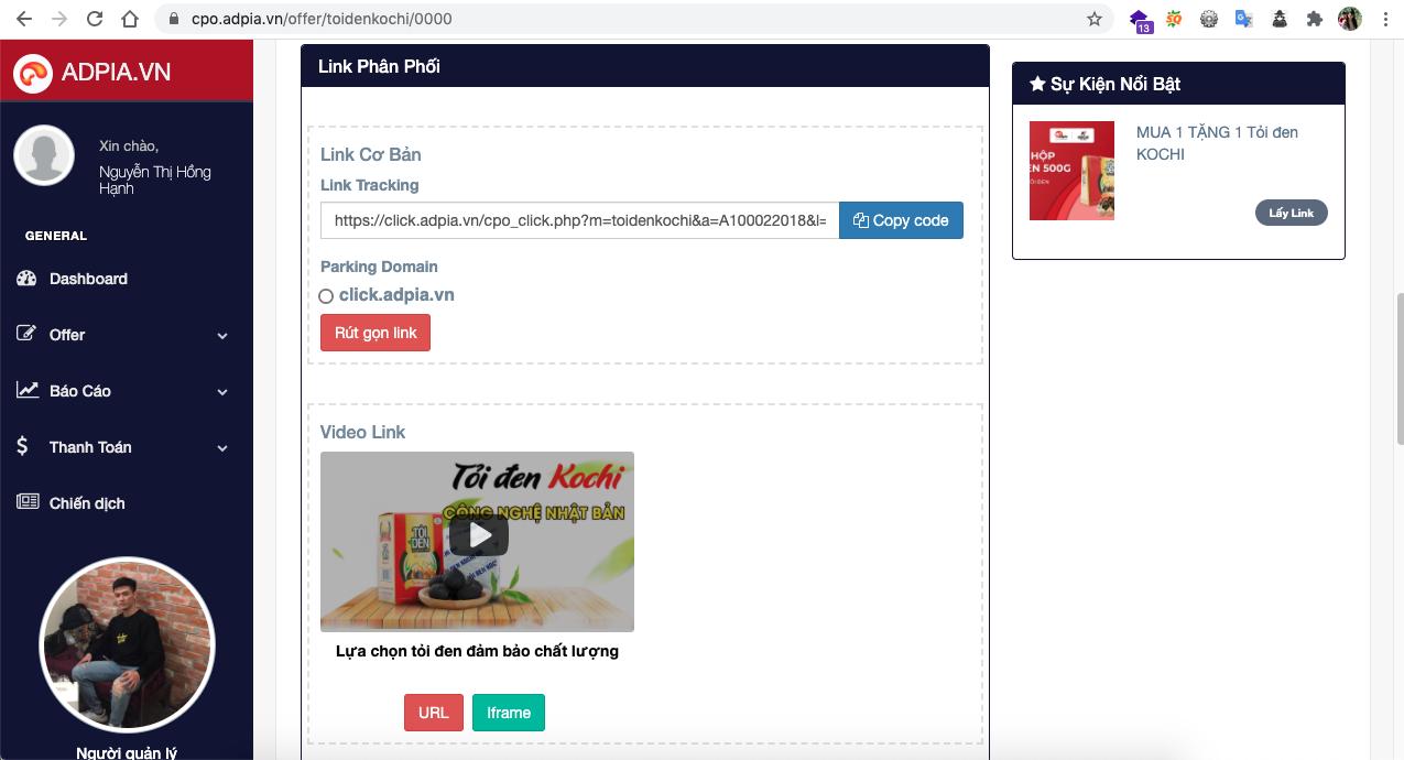 Bước 6: Nhập thông tin khách hàng lên hệ thống