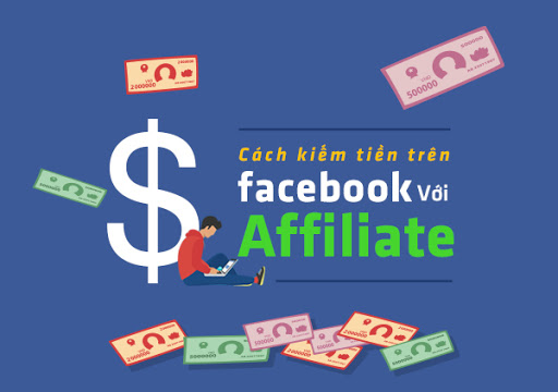Cách kiếm tiền trên facebook với Affiliate Marketing