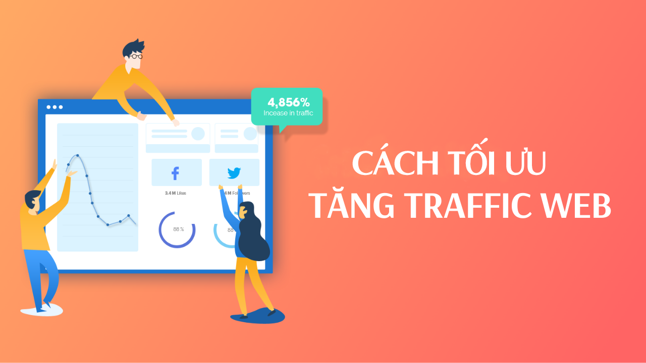 Cách tối ưu tăng traffic cho website