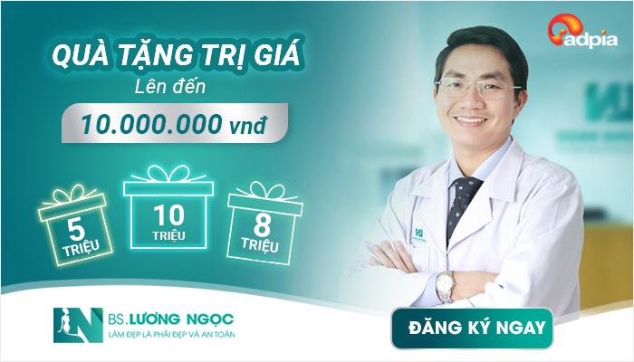 quà tặng trị giá lên đến 10,000,000 vnđ