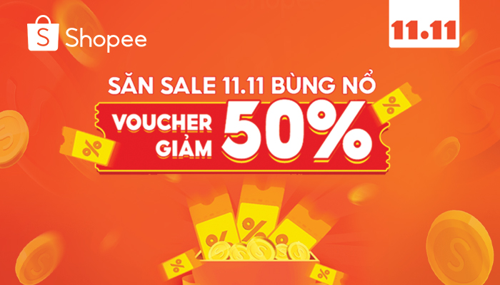 siêu sale 11.11 shopee