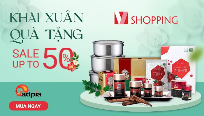 [VSHOPPING] KHAI XUÂN QUÀ TẶNG - SALE UP TO 50%