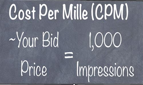 Cost Per Mille Impression CPM là gì?