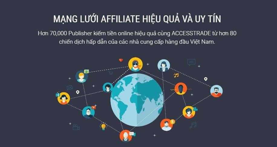 Tổng hợp các mạng affiliate network uy tín nhất hiện nay