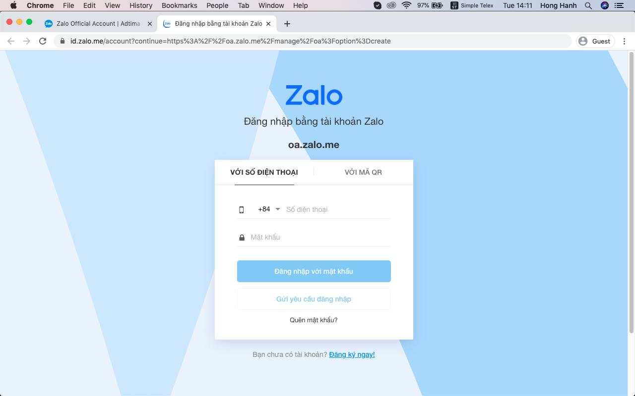 Triển khai Zalo Page kiếm tiền online siêu dễ