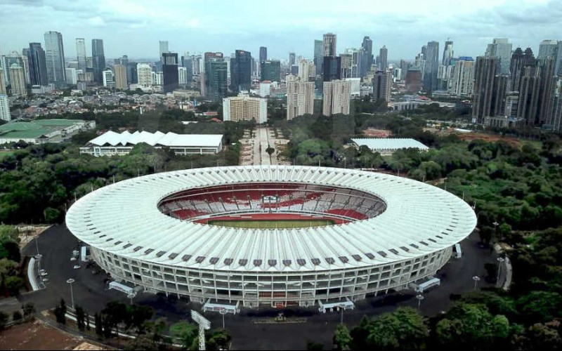 Image result for The Gelora Bung Karno Stadium