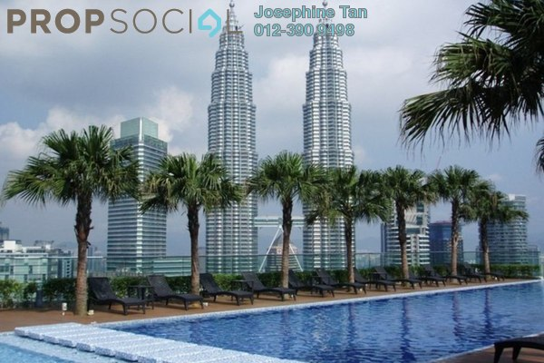 For Sale Condominium at Quadro Residences, KLCC Freehold Fully Furnished 4R/3B 2.82m