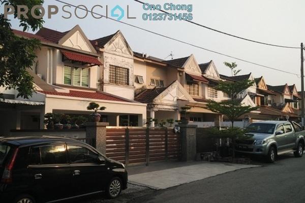For Rent Terrace at Jalan Merak, Bandar Puchong Jaya Freehold Semi Furnished 4R/3B 1.4k