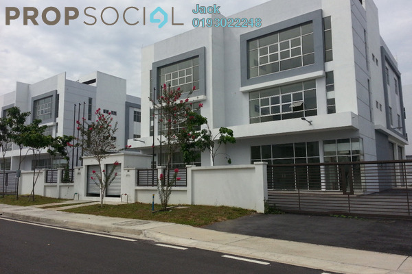 For Rent Factory at i-Parc2, Shah Alam Freehold Unfurnished 0R/4B 9.5k