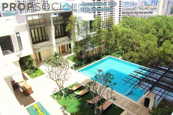 For Sale Townhouse at Bangsar Peak, Bangsar Freehold Semi Furnished 4R/5B 5.4百万