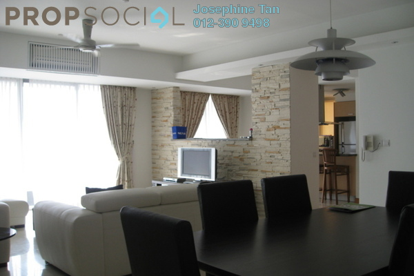 For Sale Condominium at 2 Hampshire, KLCC Freehold Semi Furnished 4R/3B 2.05m