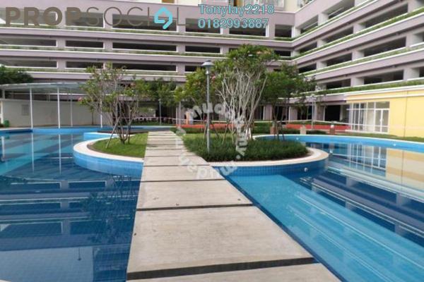 For Rent Condominium at Platinum Lake PV10, Setapak Leasehold Semi Furnished 3R/2B 1.7k