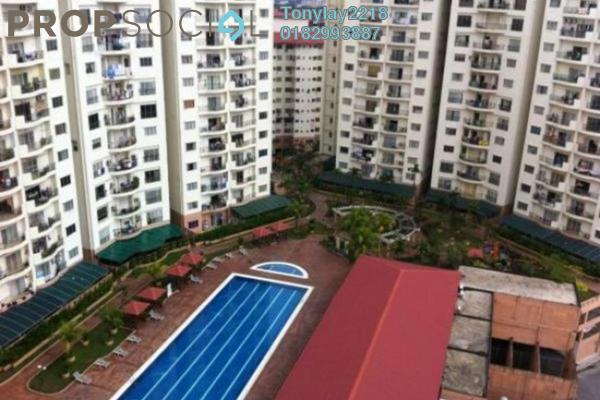 For Rent Condominium at Prima Setapak I, Setapak Leasehold Semi Furnished 3R/2B 1.5k