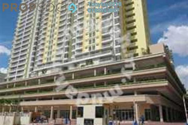 For Rent Condominium at Platinum Lake PV10, Setapak Leasehold Semi Furnished 3R/2B 2.6k