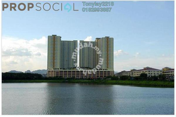 For Rent Condominium at Platinum Lake PV10, Setapak Leasehold Semi Furnished 4R/2B 2.6k