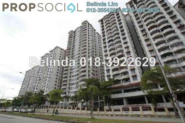 For Sale Condominium at OG Heights, Old Klang Road Freehold Unfurnished 3R/2B 447k