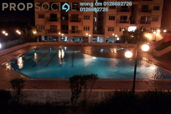 For Rent Condominium at Langat Jaya, Batu 9 Cheras Freehold Semi Furnished 3R/2B 1.25k