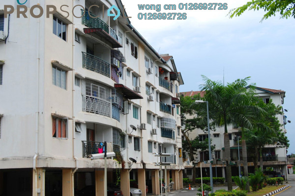 For Sale Apartment at Cheras Perdana, Cheras South Freehold Unfurnished 4R/2B 350k