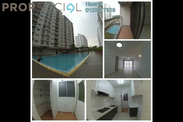 For Rent Apartment at Cahaya Permai, Bandar Putra Permai Leasehold Fully Furnished 3R/2B 1.2k