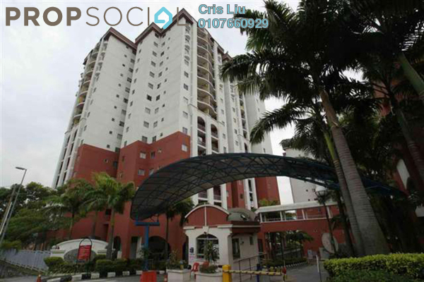 For Rent Condominium at Ketumbar Hill, Cheras Freehold Semi Furnished 1R/1B 850translationmissing:en.pricing.unit