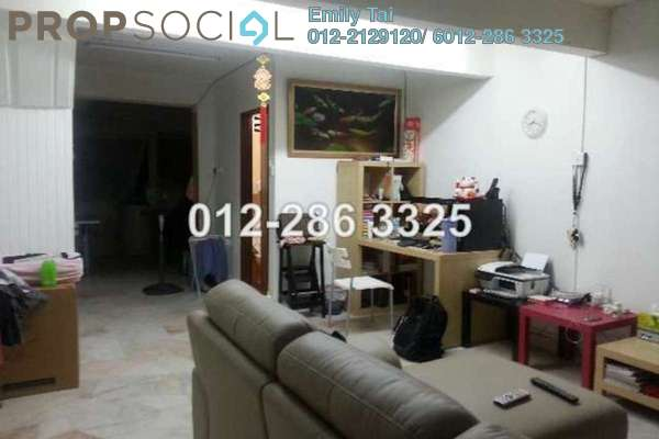For Sale Terrace at Taman Sri Endah, Sri Petaling Leasehold Semi Furnished 2R/1B 408k