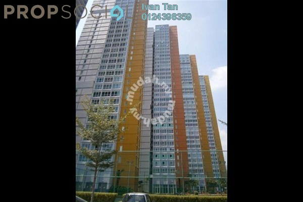 For Sale Condominium at Central Residence, Sungai Besi Freehold Semi Furnished 5R/4B 1.28m