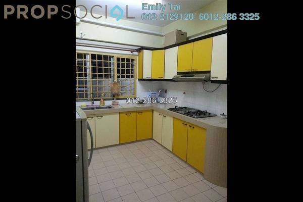 For Sale Condominium at Endah Ria, Sri Petaling Leasehold Semi Furnished 3R/2B 550k