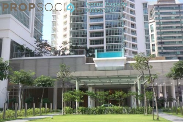 For Rent Condominium at Marc Service Residence, KLCC Freehold Fully Furnished 1R/1B 3.7k