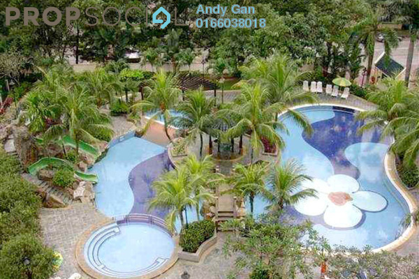 For Rent Condominium at Angkupuri, Mont Kiara Freehold Fully Furnished 2R/2B 3k