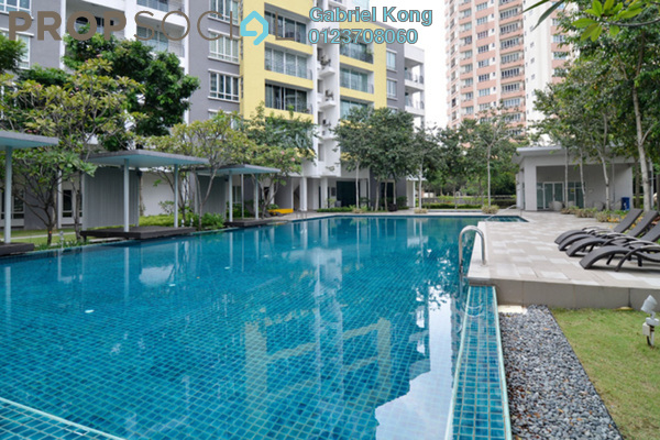 For Sale Condominium at Laman Baiduri, Subang Jaya Leasehold Fully Furnished 3R/2B 768k
