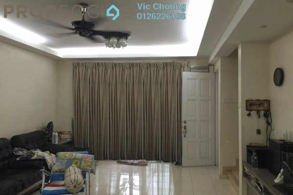 For Sale Terrace at Ampang Saujana, Ampang Leasehold Semi Furnished 4R/3B 680k