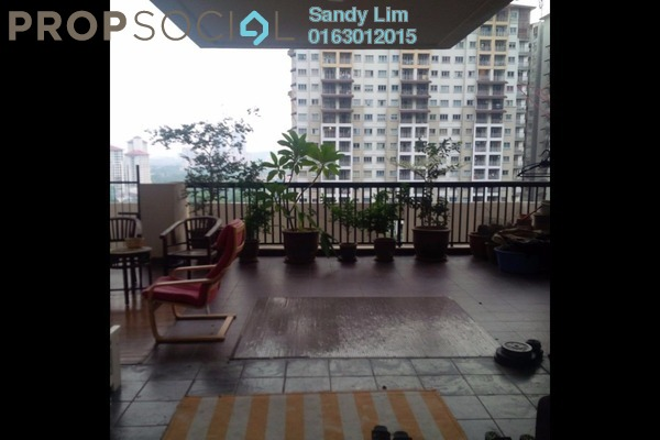 For Sale Duplex at Armanee Terrace I, Damansara Perdana Leasehold Semi Furnished 3R/3B 980k