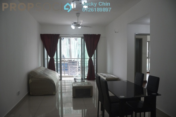 For Rent Apartment at Parc @ One South, Seri Kembangan Leasehold Fully Furnished 3R/2B 1.5k