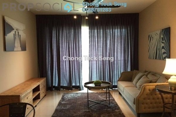 For Rent Serviced Residence at Solaris Dutamas, Dutamas Freehold Fully Furnished 1R/1B 5.8k