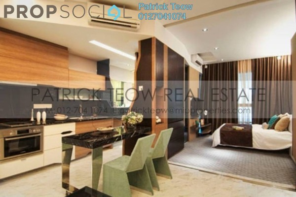For Rent Serviced Residence at VERVE Suites, Mont Kiara Freehold Fully Furnished 0R/1B 2.8k