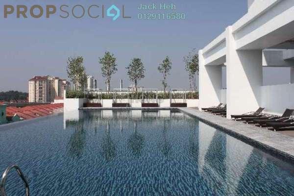 For Rent SoHo/Studio at Sunway Nexis, Kota Damansara Leasehold Semi Furnished 1R/1B 2.6k