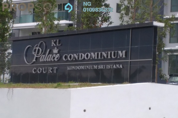 For Sale Condominium at KL Palace Court, Kuchai Lama Leasehold Unfurnished 3R/2B 700k