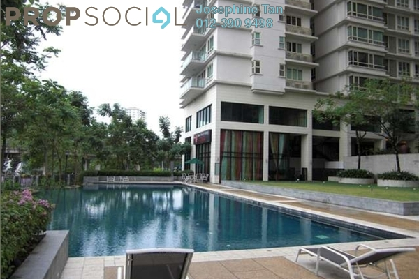 For Rent Condominium at Northpoint, Mid Valley City Leasehold Fully Furnished 2R/1B 5k