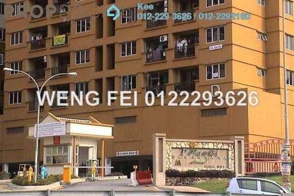 For Sale Apartment at Pelangi Damansara, Bandar Utama Leasehold Semi Furnished 3R/2B 340k