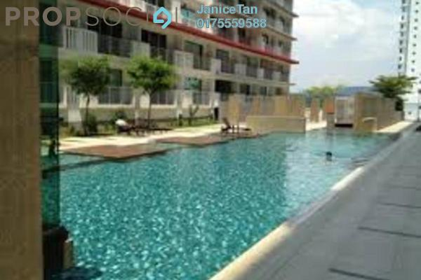 For Rent Condominium at Ritze Perdana 2, Damansara Perdana Leasehold Semi Furnished 1R/1B 1.3k