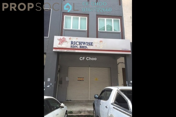 For Rent Shop at Taman Banang Ria, Batu Pahat Freehold Unfurnished 0R/0B 1.8k