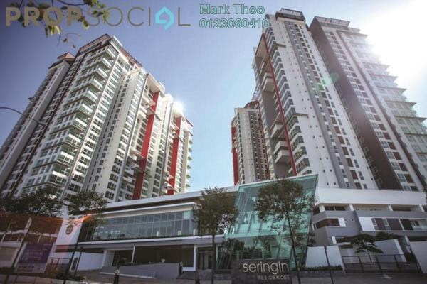 For Sale Condominium at Seringin Residences, Kuchai Lama Freehold Fully Furnished 3R/3B 1.4m