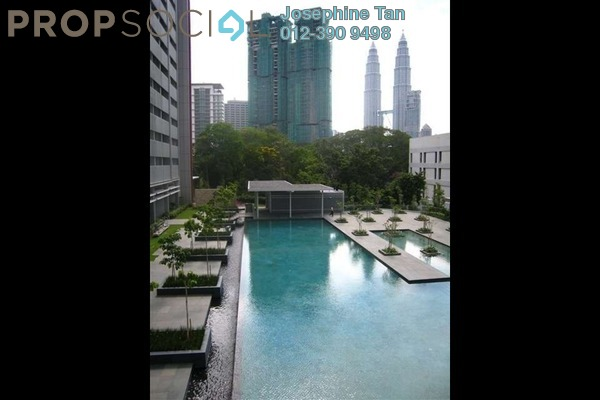 For Rent Condominium at Dua Residency, KLCC Freehold Fully Furnished 4R/3B 9.9k