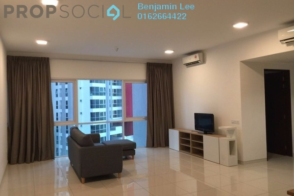 For Rent Condominium at Seringin Residences, Kuchai Lama Freehold Fully Furnished 2R/2B 2.9k