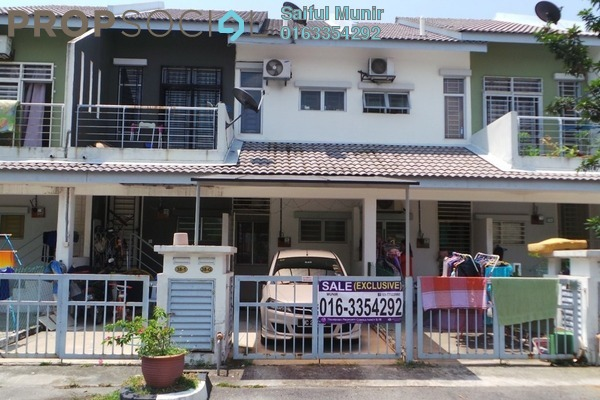 For Sale Townhouse at Taman Tasik Puchong, Puchong Leasehold Semi Furnished 3R/2B 365k