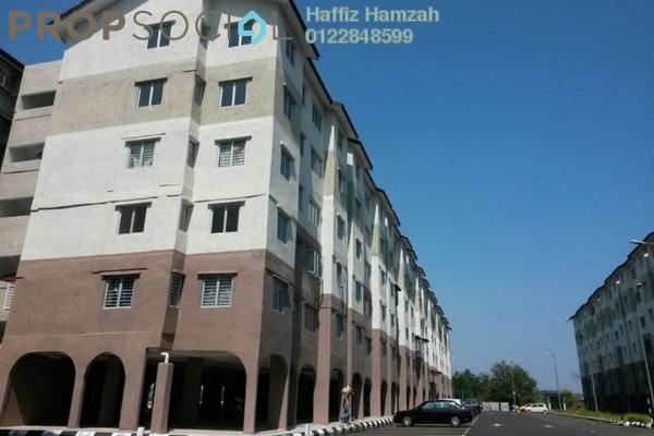 For Rent Apartment at Kelisa Ria Apartment, Kajang Freehold Semi Furnished 3R/2B 700translationmissing:en.pricing.unit