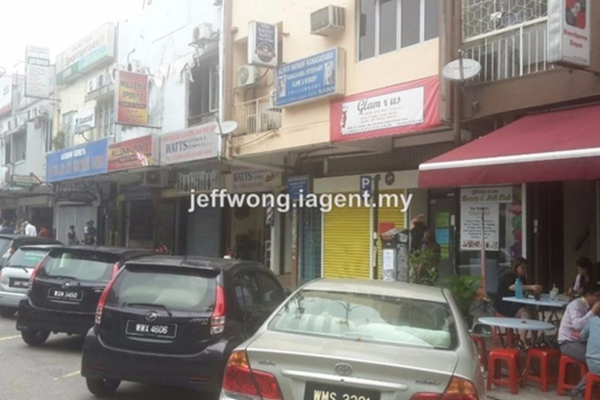 For Rent Shop at Lucky Garden, Bangsar Freehold Unfurnished 0R/2B 5.5k